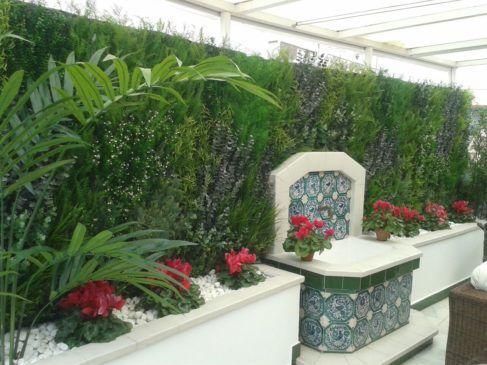 jardin en vivienda