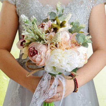 ramo flores artificial